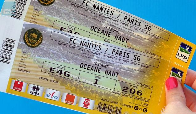 football gagnez des places pour le match nantes psg le maine libre. Black Bedroom Furniture Sets. Home Design Ideas