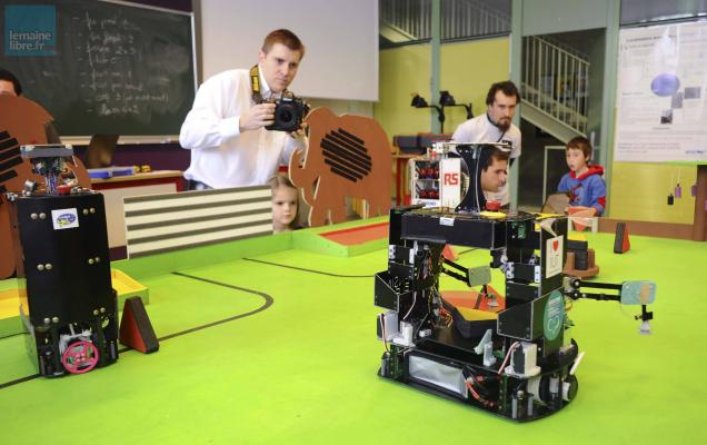 La fert la coupe de france de robotique aurait bien lieu la fert en 2015 le maine libre - Coupe de france robotique ...