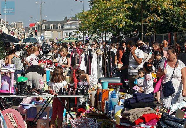 Sarthe le programme des brocantes et vide greniers ce week end le maine libre - Brocante a paris ce week end ...