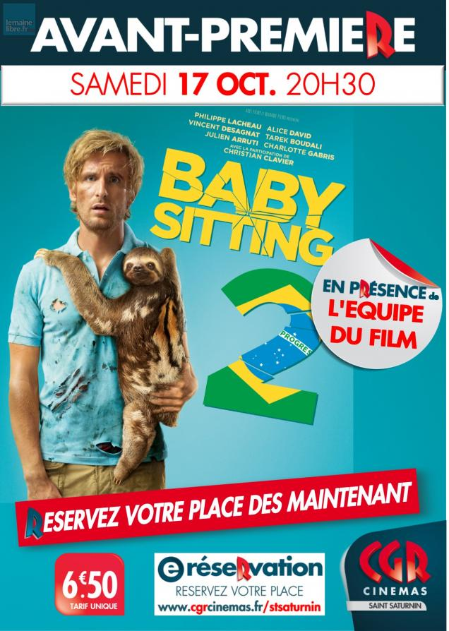 jeu gagnez vos places pour le film babysitting 2 le maine libre. Black Bedroom Furniture Sets. Home Design Ideas