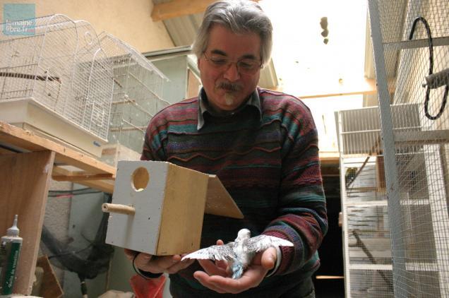 Le Fléchois André Dronne participera à cette bourse aux oiseaux.