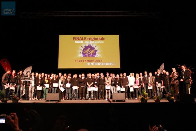 Les 42èmes Olympiades des Métiers se sont tenues vendredi et samedi à Angers