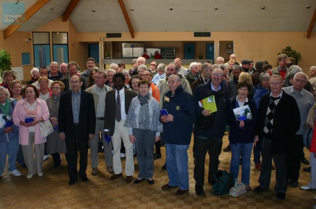 Les familles d'accueil fléchoises ont accueilli ce matin les membres de la délégation anglaise.