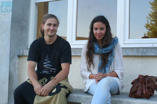 Steeve et Myriam.