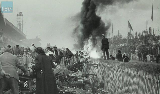 24 Heures Du Mans Trag 233 Die De 1955 La Vid 233 O De L